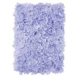 12 Units of Flower Wall Decoration Hydrangea In Lavender - Artificial Flowers