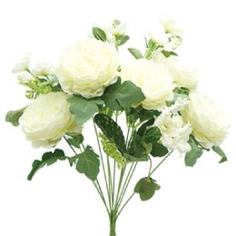 12 Units of 12 Head Flower In White - Artificial Flowers