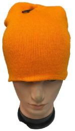 36 Units of Yellow Winter Beanie - Winter Hats