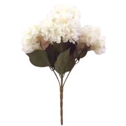 24 Units of 5 Head Flower In Light Pink - Artificial Flowers
