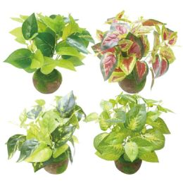 24 Units of Simulation Plant Assorted - Artificial Flowers