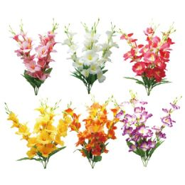 24 Units of Flower Head In Assorted Color - Artificial Flowers