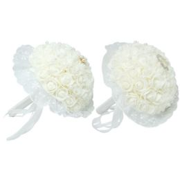 12 Units of Wedding Bouquet - Artificial Flowers