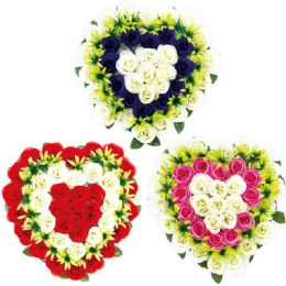 12 Units of Flower Wreath - Artificial Flowers
