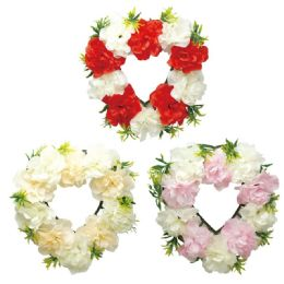 24 Units of Flower Wall Decoration - Artificial Flowers