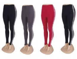 24 Units of Buttery Soft Leggings For Women One Size - Womens Leggings