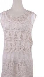 36 Units of Womens Crochet Cover Up - Womens Swimwear
