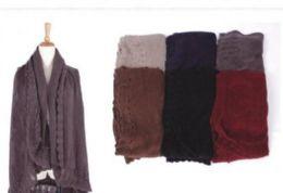 18 Units of Womens Soft Open Pashmina Shawl Winter Sleeveless Cardigan Vest Warm Knit Shrug - Winter Pashminas and Ponchos