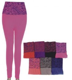 36 Units of Women's Print Pattern Leggings Premium Soft Stretch - Womens Leggings