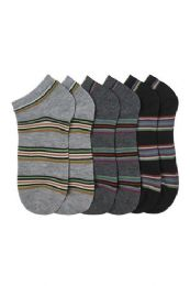 432 Units of Men's Spandex Ankle Socks Size 10-13 - Mens Ankle Sock