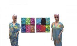 60 Units of Womens Printed Lounge Robe - Womens Fashion Tops