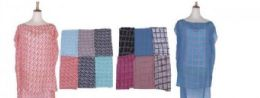 60 Units of Womens Printed Sleeveless Blouse Shirt - Womens Fashion Tops