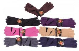 60 Units of Winter Warm Stretch Fleece Gloves - Conductive Texting Gloves