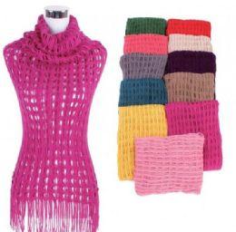 60 Units of Women Fringe Knit Tunic Top - Womens Fashion Tops
