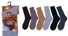 60 Units of Lambs Wool Sock - Big And Tall Mens Tube Socks