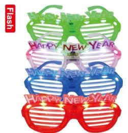 24 Units of LED new year glasses - New Years