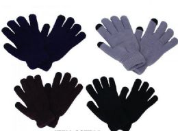 120 Units of Men's Winter Glove With Touch Screen - Conductive Texting Gloves