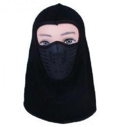 48 Units of Mens Face Mask Cotton With Fleece - Unisex Ski Masks