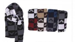 72 Units of Men's Cashmina Scarf - Winter Scarves