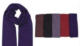 72 Units of Men's Scarf Solid Color - Winter Scarves