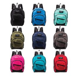 """24 Units of 13"""" Kids Wholesale Backpacks In 9 Assorted Colors - Backpacks 15"""" or Less"""