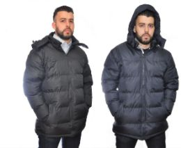 12 Units of Mens Fashion Padded Coat - Men's Winter Jackets