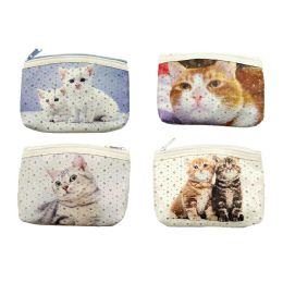 48 Units of Kittens Coin Purse - Coin Holders & Banks