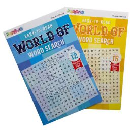 24 Units of Word Search 80pg World Of Words 2 Titles - Coloring & Activity Books