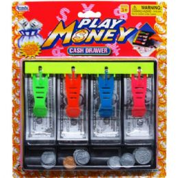 36 Units of Play Money Cash Drawer - Educational Toys
