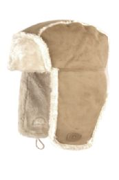 12 Units of Winter Faux Suede And Fur Trapper Hat - Trapper Hats
