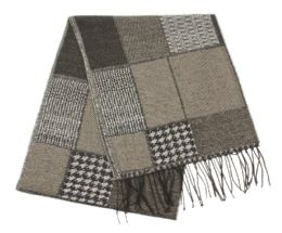 24 Units of Multi Patch Mens Scarf - Winter Scarves