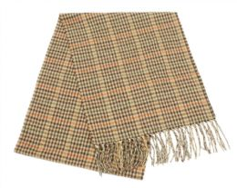 24 Units of Mens Winter Plaid Scarf In Brown - Winter Scarves