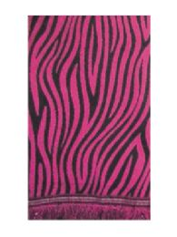36 Units of Cashmere Feel Leopard Scarf Assorted Color - Winter Scarves