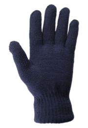 24 Units of Mens Thermal Knit Winter Glove In Assorted Color - Winter Gloves