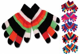 48 Units of Kids Glove Double Layer - Kids Winter Gloves