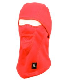 12 Units of Winter Face Cover Sports Mask With Front Mesh And Warm Fur Lining In Red - Unisex Ski Masks
