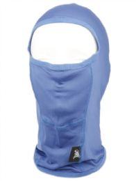 24 Units of Winter Ninja Mask In Royal - Unisex Ski Masks