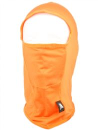 24 Units of Winter Ninja Mask In Orange - Unisex Ski Masks
