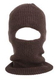 24 Units of Knit Ninja Winter Mask in Assorted Color - Unisex Ski Masks