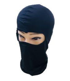 36 Units of Ninja Face Mask Black Only - Unisex Ski Masks