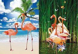 40 Units of 3D Picture Flamingo - Home Decor