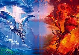 40 Units of 3D Picture Fire Dragon Ice Dragon - Home Decor