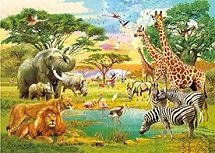40 Units of 3D Picture Noah's Ark Animals - Home Decor