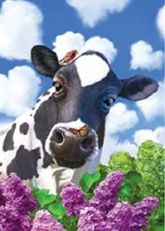 40 Units of 3D Picture Cow with Butterfly - Home Decor