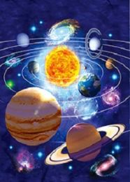 40 Units of 3D Picture Solar System - Home Decor