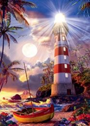 40 Units of 3D Picture Lighthouse and Boat - Home Decor