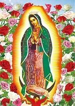40 Units of 3D Picture Our Lady of Guadalupe Virgin Mary - Home Decor