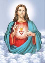 40 Units of 3D Picture Jesus In The Clouds - Home Decor