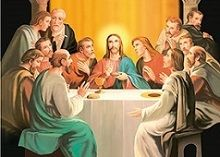40 Units of 3D Picture Jesus With Apostles - Home Decor