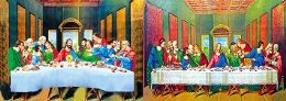 40 Units of 3D Picture The Last Supper - Home Decor